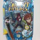 "2007 Storm Hawks 6"" Deluxe Action Figure with Bonus DVD- Aerrow"
