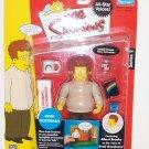 The Simpsons Series 2 Interactive Action Figure- Brad Goodman