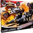 Power Rangers Super Samurai Fire Tiger Tank Zord with Red Samurai Ranger
