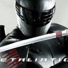 Snake Eyes G.I. Joe Retaliation Replica Arashikage Carbon Steel Katana