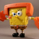 "2010 SpongeBob SquarePants 2 1/2"" Action Figure- Karate SpongeBob"