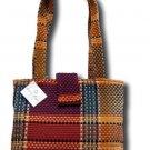 Donna Sharp Quilted Weaver Lori Tote Handbag 41985