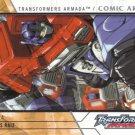 2003 Fleer Transformers Armada Comic Art Card Insert- #ACA4 by James Raiz