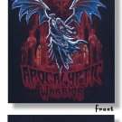 "WWE Authentic Undertaker ""Apocalyptic Warrior"" Premium T-Shirt Black Medium"