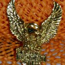 "Harley Davidson ""Classic Eagle"" Logo Raintree Buckles & Jewelry Inc. Collectible Gold Plated Pin"