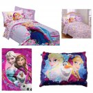 Disney Frozen Love Blooms Complete 6 Piece Twin Bed in a Bag