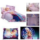 Disney Frozen Love Blooms Complete Twin Bed in a Bag & Projection Night Light