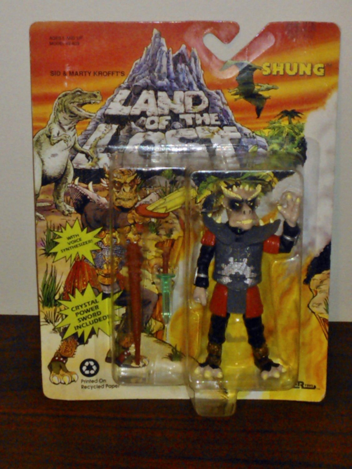 Land of the Lost Shung Action Figure with Voice Synthesizer by Tiger ...
