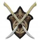 The Lord of the Rings United Cutlery Fighting Knives of Legolas Greenleaf
