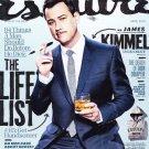Esquire Magazine April 2014- Jimmy Kimmel