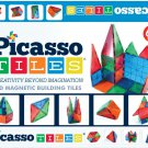 Picasso Tiles 3-D Magnetic Building Tiles- 60 Pieces