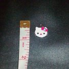 "Hello Kitty 1"" Pendant Charm- Hello Kitty Classic Face with Gem"