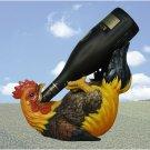 Rooster Wine Bottle Holder