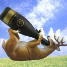Whitetail Deer Buck Wine Bottle Holder