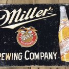 """16"""" X 12.5"""" Miller Brewing Company Tin Sign"""