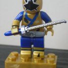Power Rangers Super Samurai Mega Bloks Micro Figure- Battle Damaged Gold Ranger