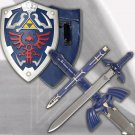 The Legend of Zelda Twilight Princess Link Sword and Hylian Shield Set