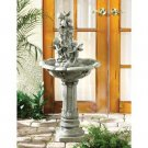 Classic Outdoor Roman Inspired Baby Cherub Water Fountain