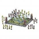 Mythical Fairy Battle Premium 3-D  2 Tier Chess Set