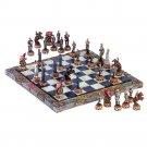 Detailed Civil War Chess Set
