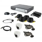 Spyclops Dvr Kit With 2 Dome Cameras & 2 Bullet Cameras