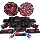 Ultimate 15 Piece Throwing Knife Enthusiast Set with Target Boards