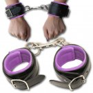 Purple Aphrodite's Hunger Romantic Rapture Adult Wrist Restraints