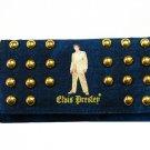 Elvis Presley Gold Lame Studded Denim Wallet