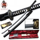 "Ryumon Handmade 42 1/2"" Waving Hamon Sword"