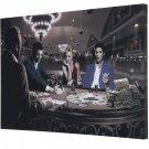 Royal Flush Marilyn Monroe, Elvis Presley, James Dean, Humphrey Bogart Canvas Print