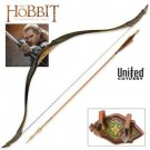 The Hobbit Short Bow of Legolas Greenleaf by United Cutlery with Certificate of Authenticity