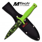 M Tech Zombie Combat/ Boot Knife- Zombie Green