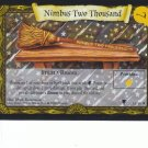 2001 Harry Potter Quidditch Cup TCG Rare Holofoil- Nimbus Two Thousand #16