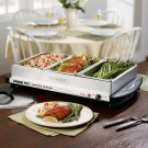 Waring Pro Professional Buffet Style Food Server and Warming Tray (with 4 yr. Protection Plan)