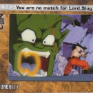 You Are No Match For Lord Slug 2002 Artbox Dragonball Z Film Cardz Animation Cell #19