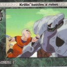 Krillin Battles a Robot 2002 Artbox Dragonball Z Film Cardz Animation Cell #56