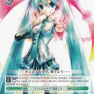 """Together with You"" Hatsune Miku PD/S22-E031 Rare Weiss Schwarz Hatsune Miku Project Diva"