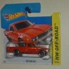 Datsun 620 2014 Hot Wheels HW Off-Road #139 International Short Card