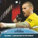 CM Punk 2013 Topps Best of WWE Top 10 Catchphrases #7