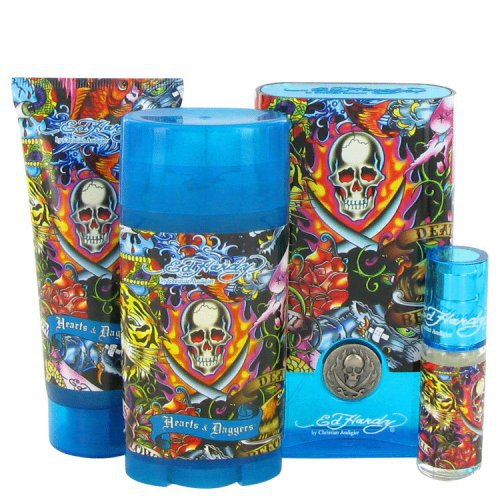 Ed Hardy Hearts Daggers 3 4 Oz Perfume For Women New In Box: Ed Hardy Hearts & Daggers By Christian Audigier Gift Set