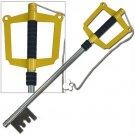 Sora's Kingdom Key Keyblade Cosplay Stainless Steel Replica Kingdom Hearts
