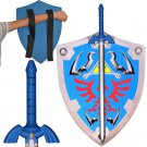 Link Triforce Zelda Foam LARP/Cosplay Shield and Twilight Princess Sword Set Legend of Zelda