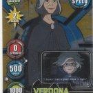 Ben 10 Alien Force Highbreed Invasion TCG Verdona #131-R Rare Gold Holofoil
