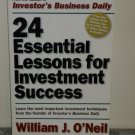 24 Essential Lessons for Investment Success by William J. O'Neil (Paperback 2000)