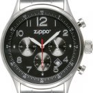 Men's Chronograph Black Dial Zippo Watch