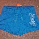 "True Rock Stretch Beach Gym Dancer Workout Yoga Sexy Hot Shorts Blue ""Sexy"" Size Petite M"