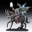 Dragon Warrior Riding Battle Horse Figurine Home Decor Accent