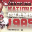 2011 Upper Deck Oklahoma National Champions Duos #NCDSB Barry Switzer/Brian Bosworth