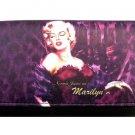 Norma Jeane as Marilyn Monroe Synthetic Leather Wallet- Purple