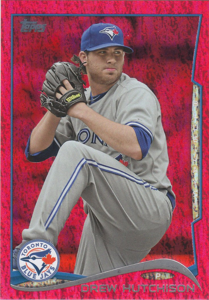 2014 Topps Red Foil 486 Drew Hutchison